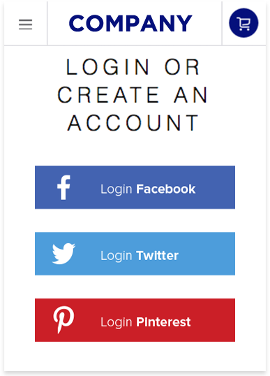 Social Login Features