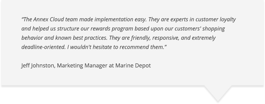 Marine Depot Case Study - Review