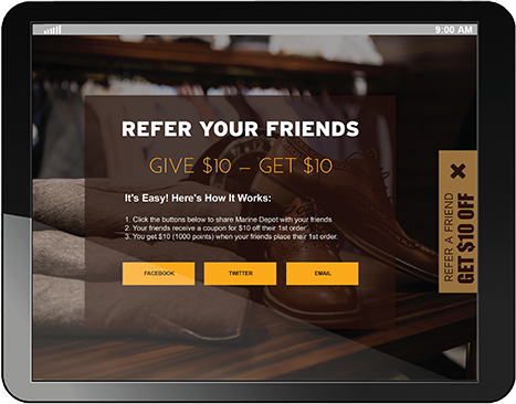 B2B Loyalty Upgraded with Referrals