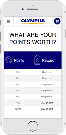 Olympus's Customer Loyalty Program