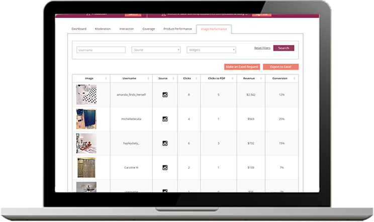 Visual commerce - Measure
