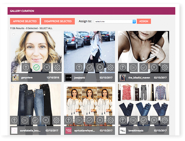 Visual Commerce Images